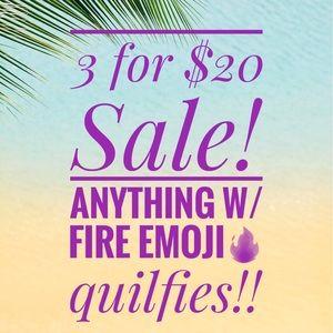 3 for $20 SALE!!! Look for fire emoji 🔥!!
